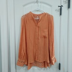 Free People small oversized blouse
